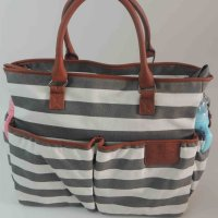 ibaby stripe weekend bag