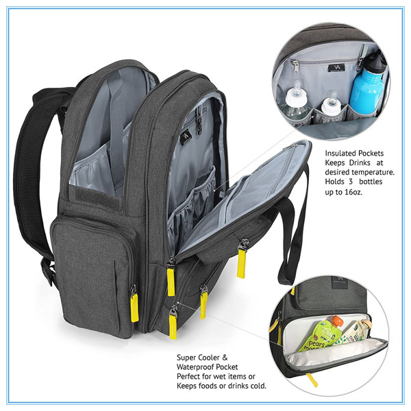 Baby Diaper Bag Backpack