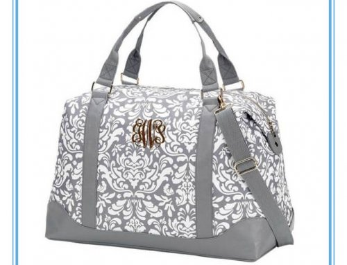 Personalized Weekender Duffle Bag