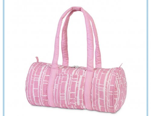 Baby quilted small duffle