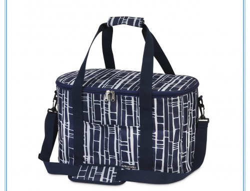 navy oval cooler bag