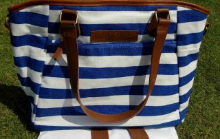 custom canvas handbag