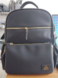 nylon backpack diaper bag