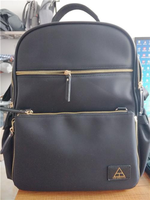 nylon backpack diaper bag