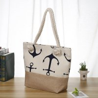 custom canvas beach bag