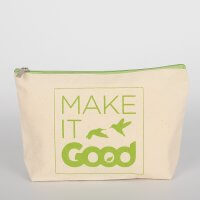 Travelling Canvas Cosmetic Bag