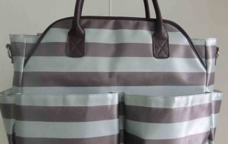 Factory Custom Sbulimation Canvas Diaper Bag