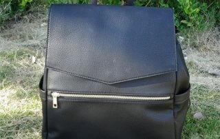 PU diaper backpack bag