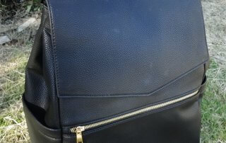 leather bag diaper backapck